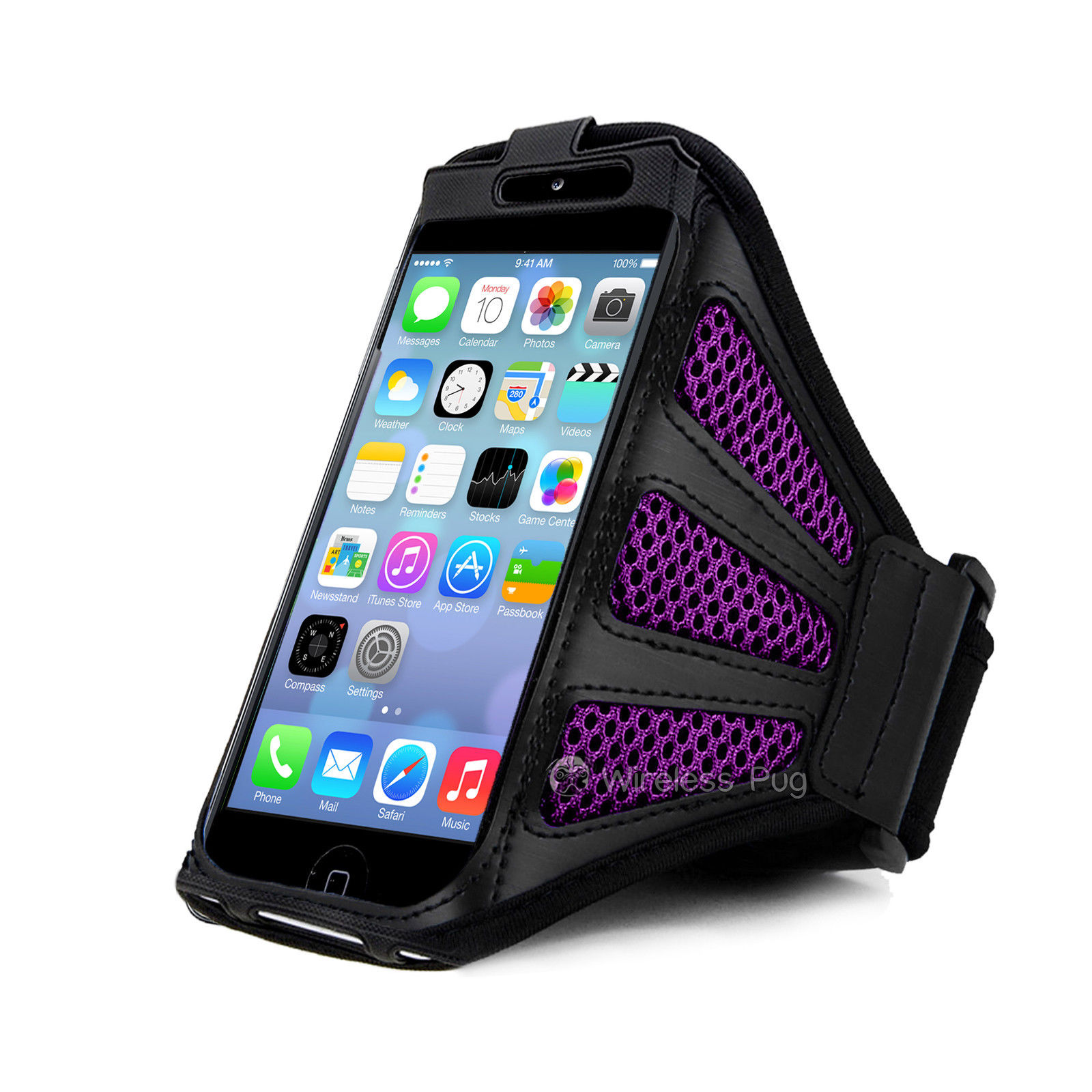 Mesh Sports Armband Case Gym Running Jogging Cover for ...