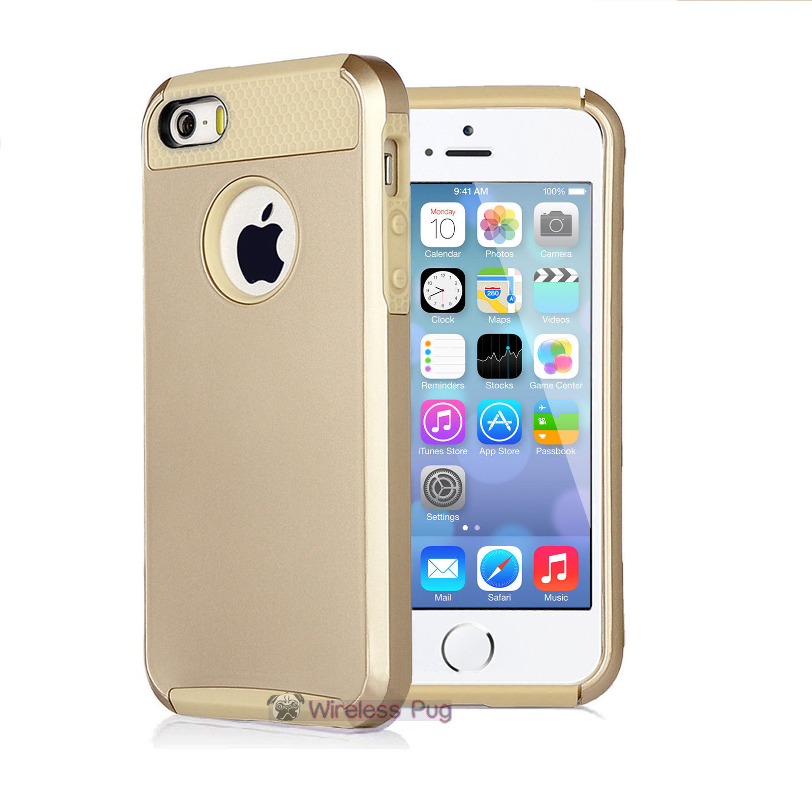 gold iphone 5s case gold hybrid shockproof cover for apple iphone 5 14203