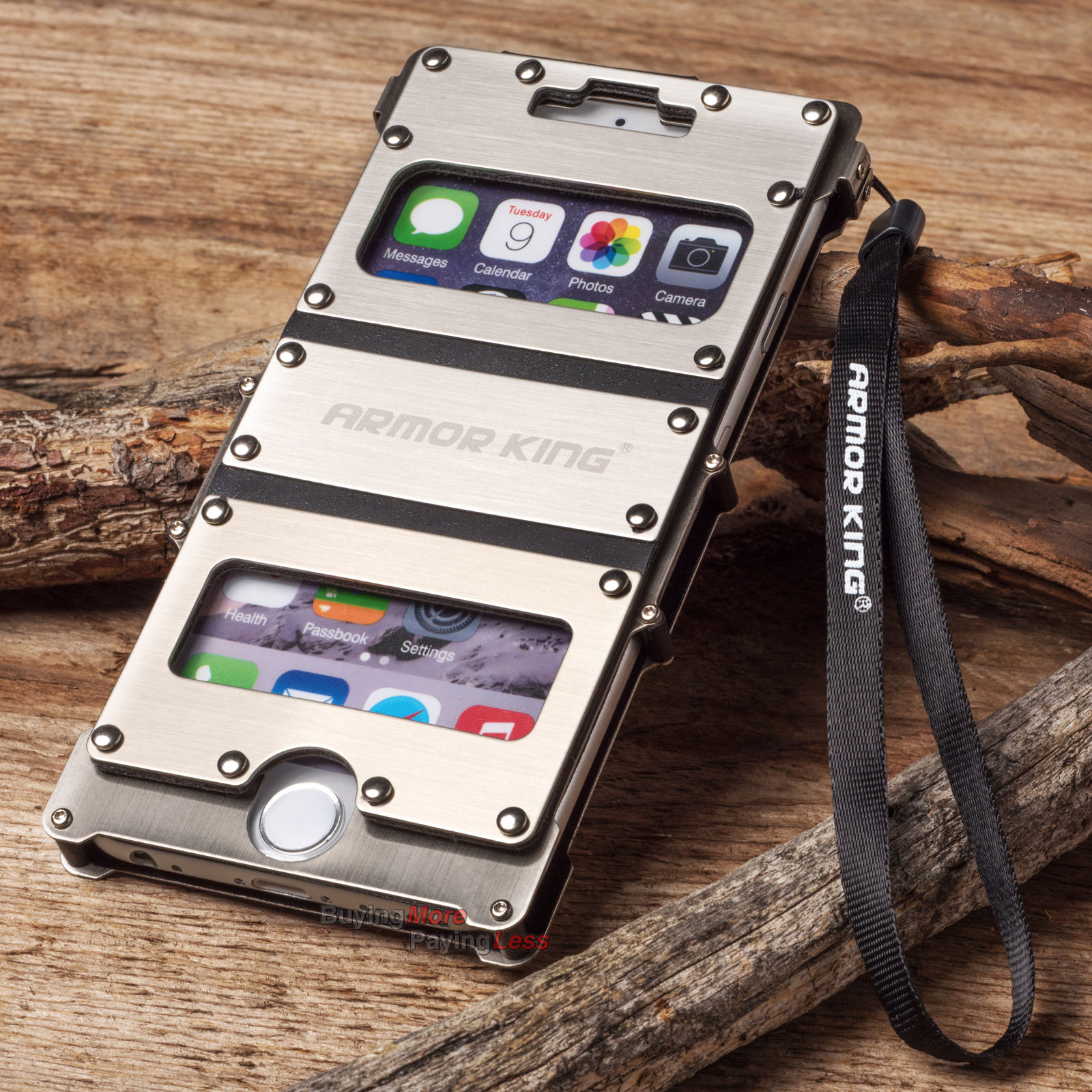 metal iphone case luxury metal aluminum rugged cover for apple iphone 6 12624